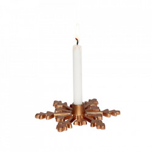 Suport lumanare din cupru 3 cm Avi Copper Hubsch