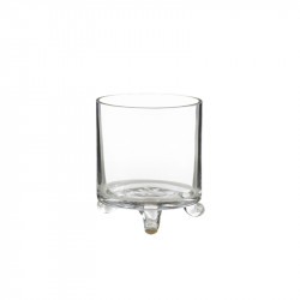 Suport lumanare transparent din sticla 14 cm Dome S Lifestyle Home Collection
