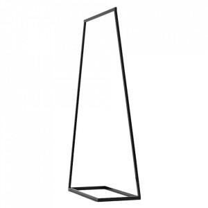 Suport umerase negru din metal 170 cm Hall Custom Form