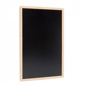 Tabla neagra cu rama din lemn stejar 60x90 cm Blackboard Hubsch