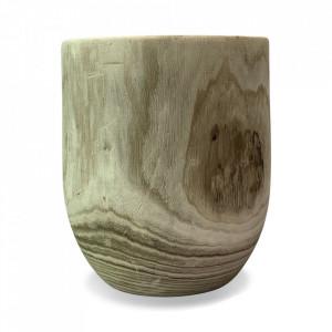 Taburet rotund din lemn 33 cm Aya Opjet Paris