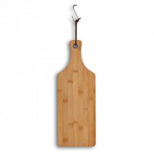 Tocator dreptunghiular maro din lemn 16x44,5 cm Serving Board Quality Zeller