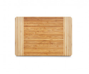 Tocator dreptunghiular maro din lemn 23x33 cm Cutting Board Striped Zeller