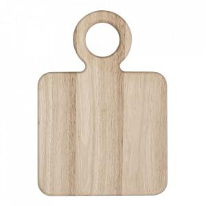 Tocator dreptunghiular maro din lemn 23x33 cm Ravi Bloomingville