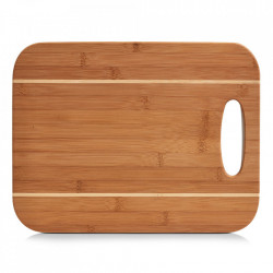 Tocator dreptunghiular maro din lemn 29x37,5 cm Woo Zeller