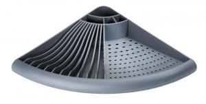 Uscator gri din polipropilena pentru vase 35x50 cm Eck Dish Wenko