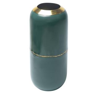 Vaza albastra din metal 36 cm Olia Zago