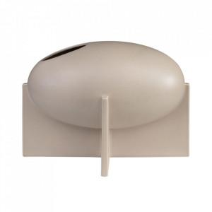 Vaza bej nisipiu din ceramica 21 cm Ovo Versmissen