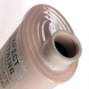 Vaza crem din ceramica 26 cm Bakti La Forma