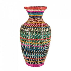 Vaza decorativa multicolora din bambus 45,5 cm Danielle Versmissen