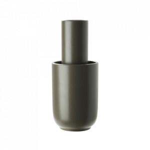 Vaza grej din ceramica 24 cm Amel Woud