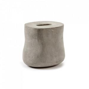 Vaza gri din beton 28 cm Ivy Serax