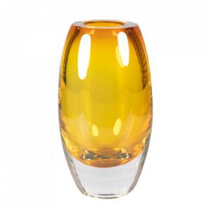 Vaza maro chihlimbar din cristal 24 cm Bullit Versmissen
