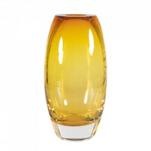 Vaza maro chihlimbar din cristal 33 cm Bullit Versmissen