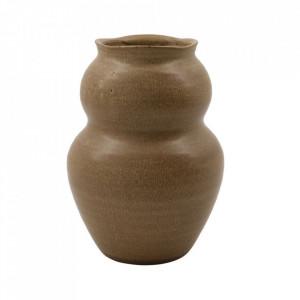 Vaza maro din lut 22,5 cm Juno House Doctor