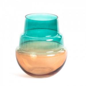 Vaza multicolor din sticla 21,5 cm Batia La Forma
