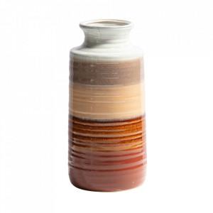 Vaza multicolora din ceramica 30 cm Decennia Be Pure Home