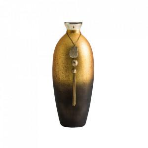 Vaza multicolora din sticla si fier 40 cm Candy Vical Home
