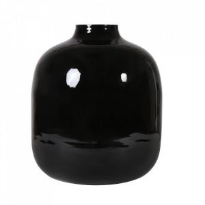 Vaza neagra din fier 37 cm Haley Zago