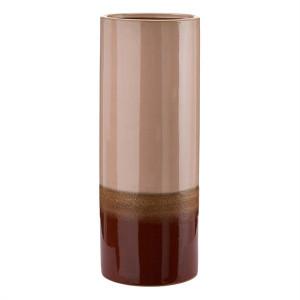 Vaza roz/rosu din ceramica 40 cm Layers Pols Potten