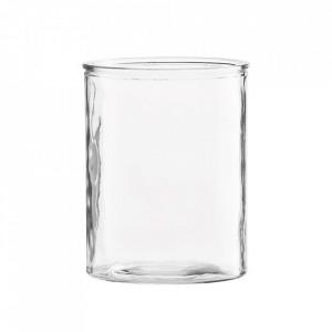 Vaza transparenta din sticla 15 cm Cylinder House Doctor