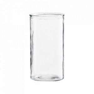 Vaza transparenta din sticla 24 cm Cylinder House Doctor
