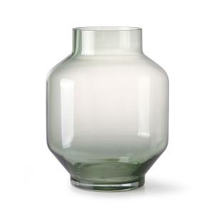 Vaza verde din sticla 25 cm Ottawa HK Living