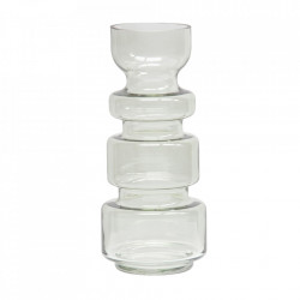 Vaza verde din sticla 37 cm Expressive Be Pure Home