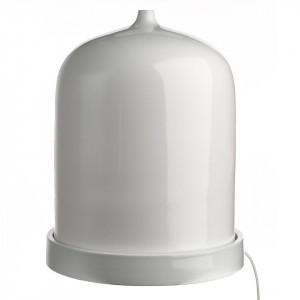 Veioza alba din portelan 44 cm Bell L Pols Potten