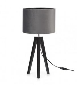 Veioza gri/neagra din textil si metal 57,5 cm Lunden Markslojd