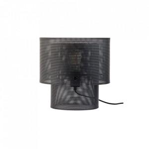 Veioza neagra din otel 32 cm Cyla Table Bolia
