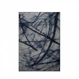 Covor albastru 240x170 cm Bob Blue White Label