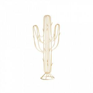 Suport pentru bijuterii din fier 39 cm Cactus Avi Gold Madam Stoltz