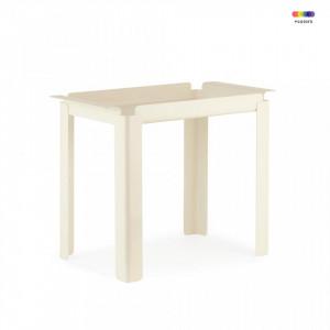 Masuta crem din otel 33x60 cm Box Table Normann Copenhagen