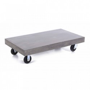 Masa gri din beton pentru cafea 80x120 cm Stone Zago
