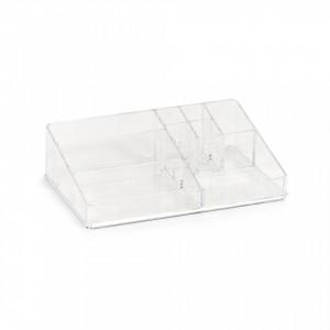 Organizator transparent din plastic Cosmetic Nine Big Zeller