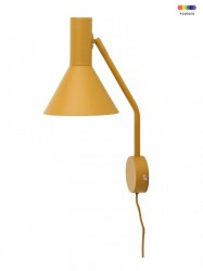 Aplica galbena din metal Lyss Frandsen Lighting