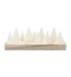 Decoratiune luminoasa LED maro din lemn Johannesberg Markslojd