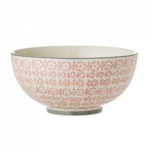 Bol roz din ceramica 1,3 L Cecile Bloomingville