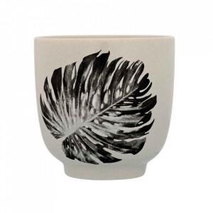 Ceasca gri din ceramica 7x7 cm Sooji Bloomingville