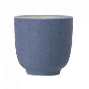 Ceasca albastra din ceramica 200 ml Cavia Bloomingville
