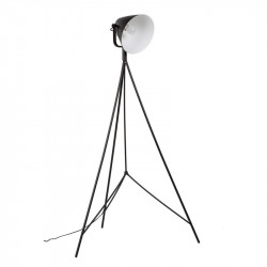 Lampadar negru din aluminiu 160 cm Ebron Black Somcasa