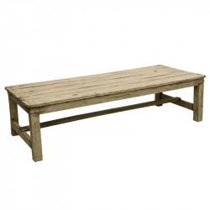 Masa crem din lemn pentru cafea 76x182 cm Cream Raw Materials