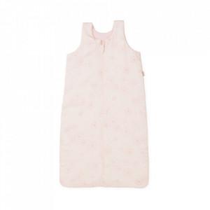Sac de dormit roz din bumbac pentru copii Ali Dandelion Cam Cam