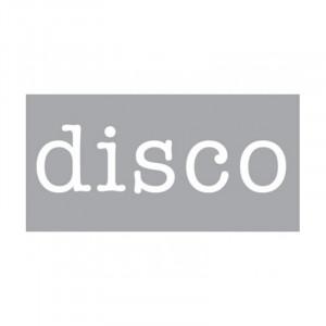Decoratiune luminoasa alba din sticla Neon Art Disco Seletti