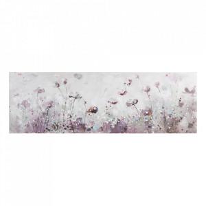 Tablou multicolor din lemn de pin 50x150 cm Panoramic Santiago Pons