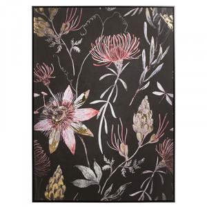 Tablou multicolor din MDF 100x140 cm Flora Santiago Pons