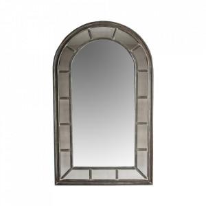 Oglinda dreptunghiulara gri din lemn 120x200 cm Kobu Ali Vical Home