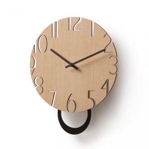 Ceas din lemn pentru perete Klaus La Forma