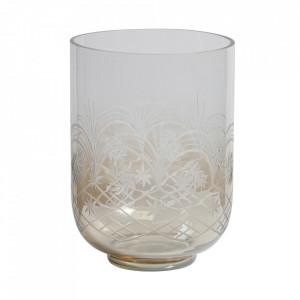Vaza transparenta din sticla 27,5 cm Heirloom Be Pure Home
